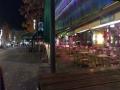 Германия. Бохум. Закрытая улица кафешек и ресторанов