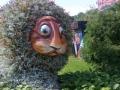 Лев в парке развлечений