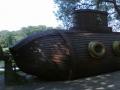 Подводная лодка в парке аттракционов Диво Остров