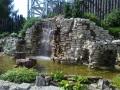 Искусственный водопад в парке Диво Остров Питер