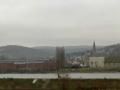 По трассе Анденах - Кельн. Шпиль замка за Рейном