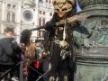 Карнавал в Венеции (Италия). Пришелец что ли?