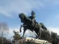 Верона (Италия). Памятник. На коне