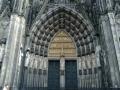 Германия. Кельнский собор. Ворота
