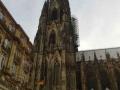Германия. Кельнский собор. Флаг Германии