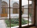 Дворик Ливадийского дворца. Вид из окна