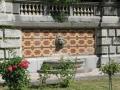 Скульптурное изображение головы льва (Массандровский дворец)