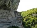 Ограждение в монастыре Челтер-Коба
