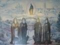 Церковные служители монастыря Феодора Стратилата