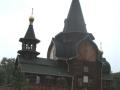 Деревянная церковь Всех Святых в Омске