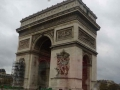 Улицы Парижа. Триумфальная Арка