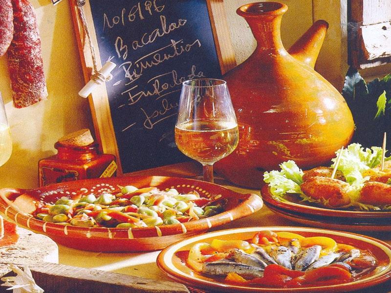 кухня Испании блюда