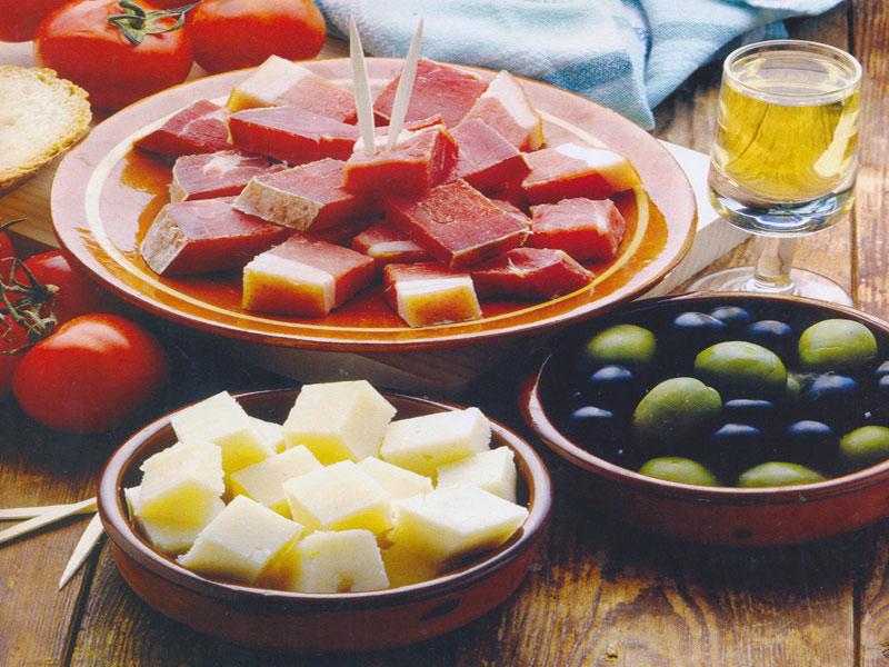популярные блюда испании