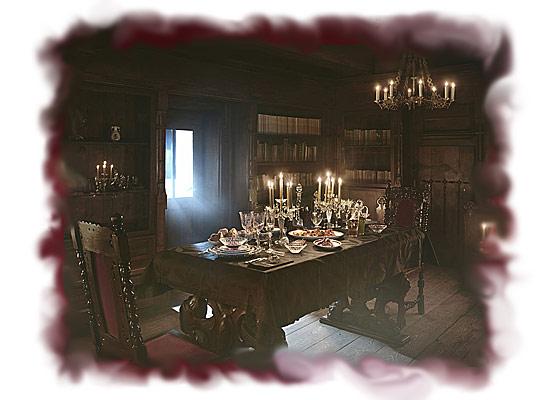 Замок Дракулы ждет своих гостей на Хэллоуин